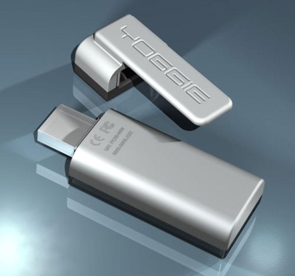 Yoggie Pico - en säkerhetscentral på en USB-pinne
