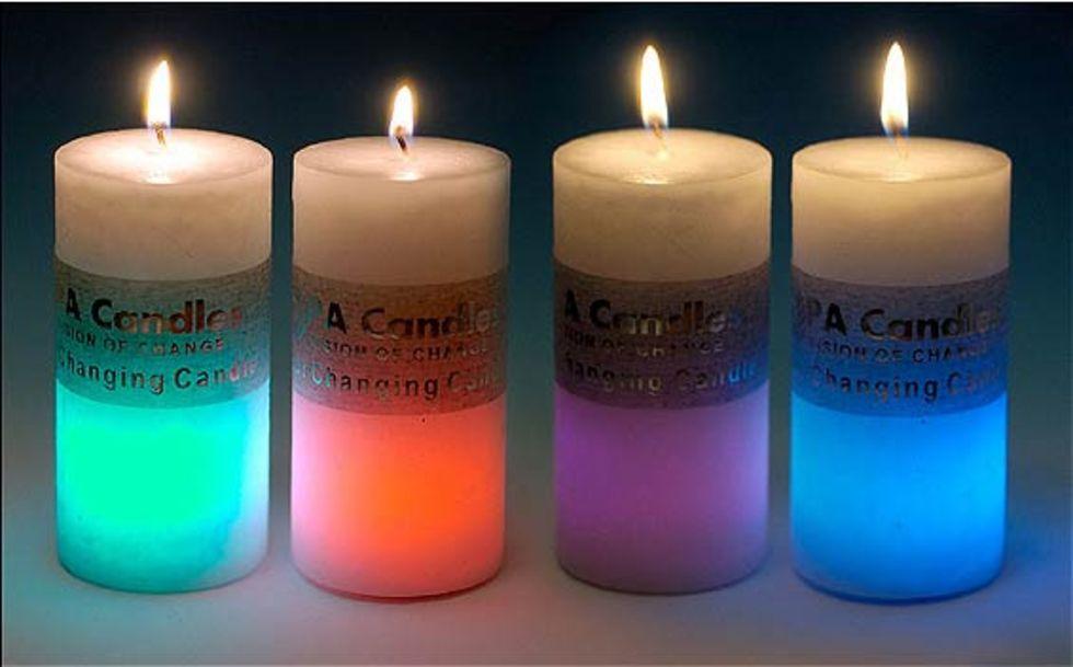 ljus som ändrar färg hur funkar det