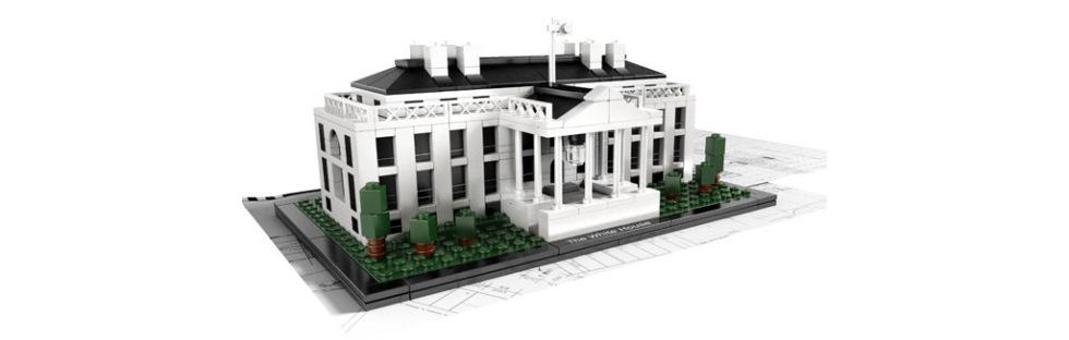 Vita Huset i LEGO
