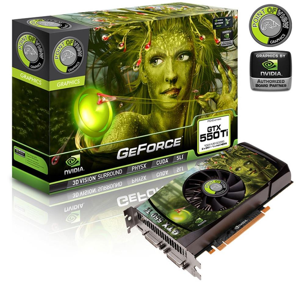 PoV GeForce GTX 550 Ti 4 GB