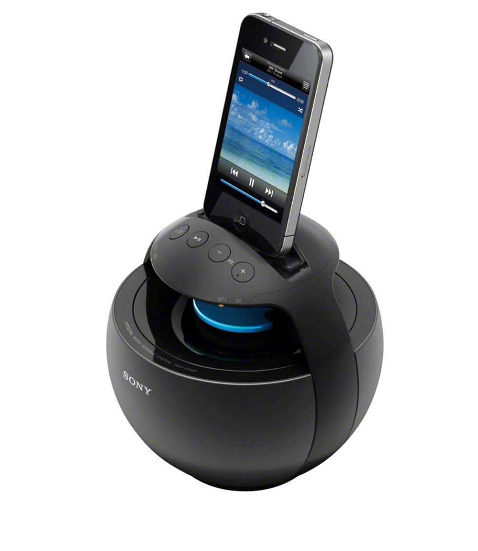 360-graders högtalare för smarthphones