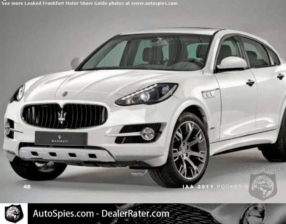 Här är Maseratis SUV!