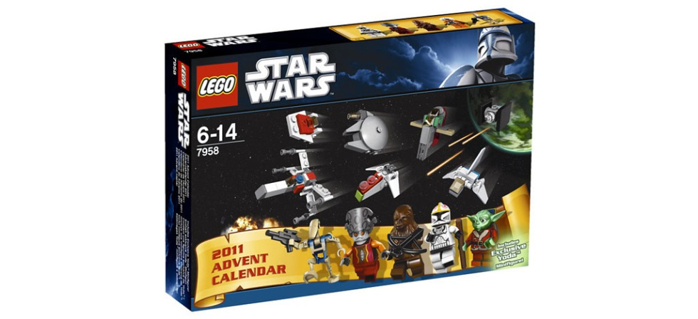 LEGO-julkalender med Star Wars-figurer