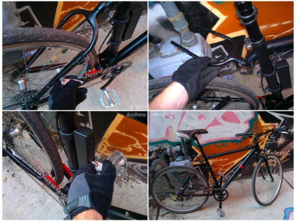 StayLocked - cykellåset som gör det lönlöst för tjuven