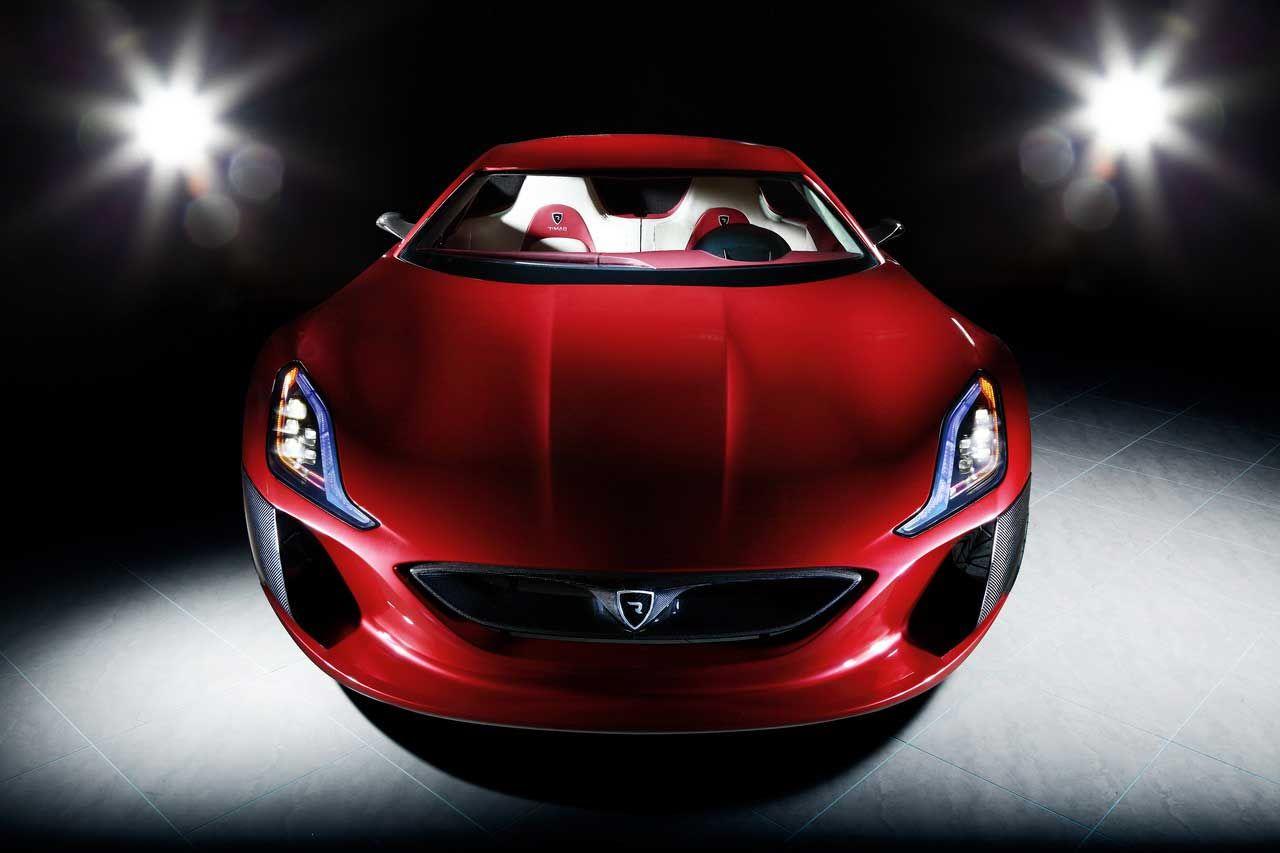 Rimacs super-elbil Concept One presenterad