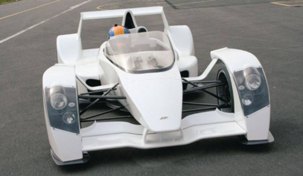 Caparo T1 snart klar