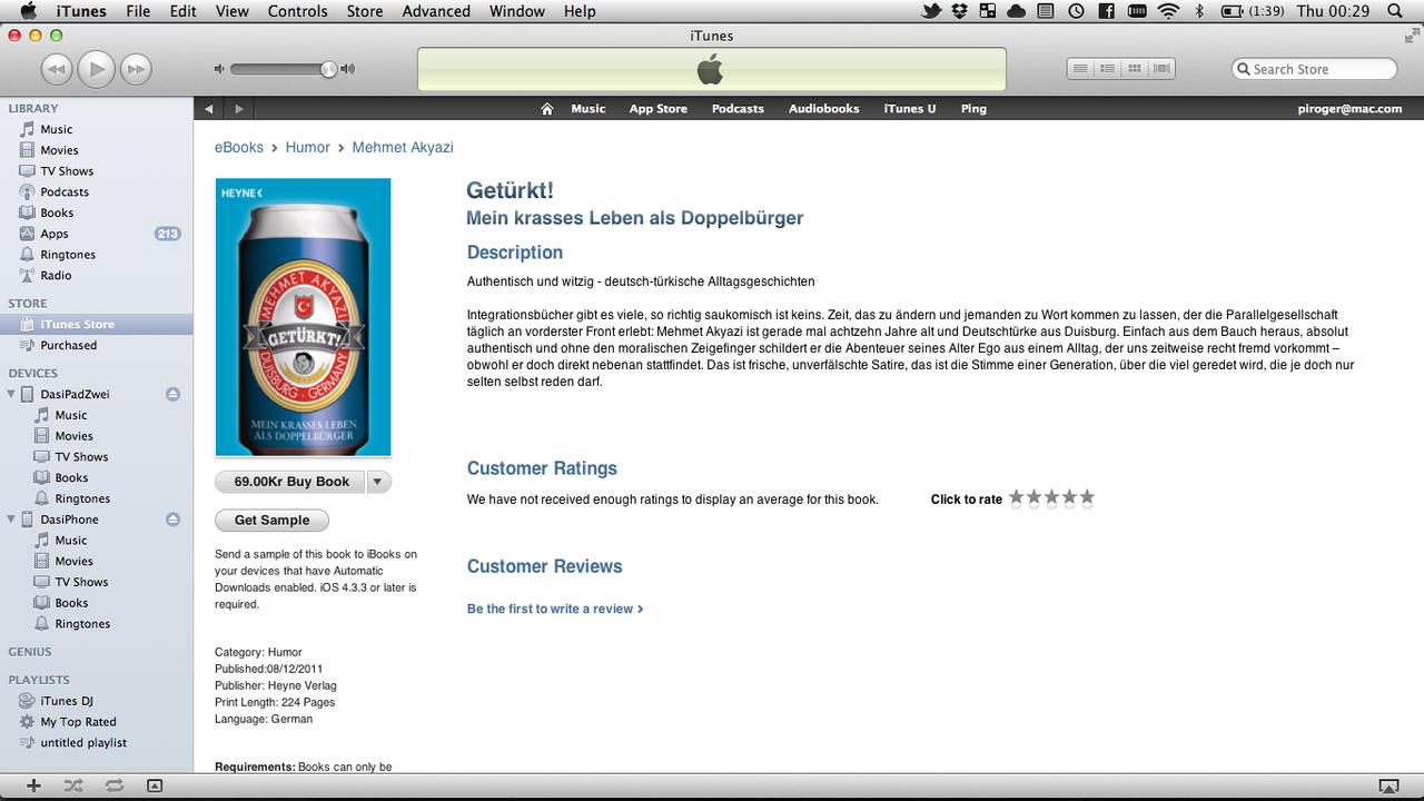 Så kan man köpa böcker i iTunes Store också!