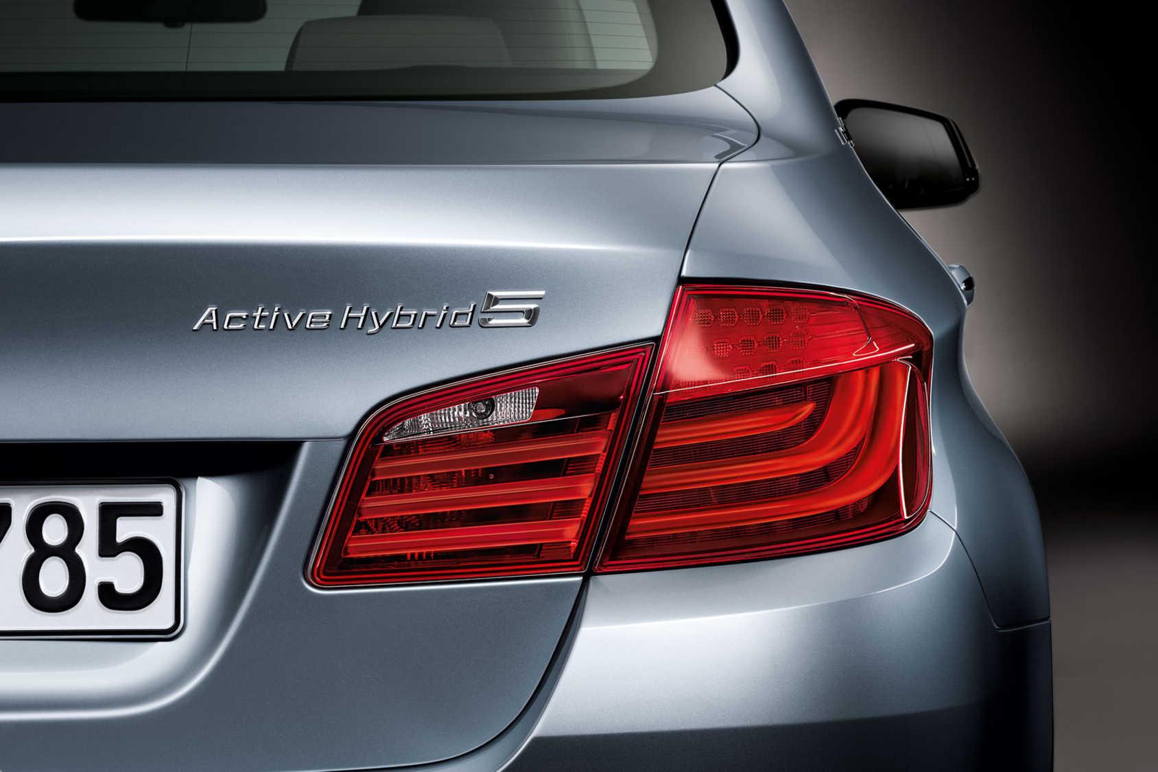 ActiveHybrid nu även till BMW:s 5-serie