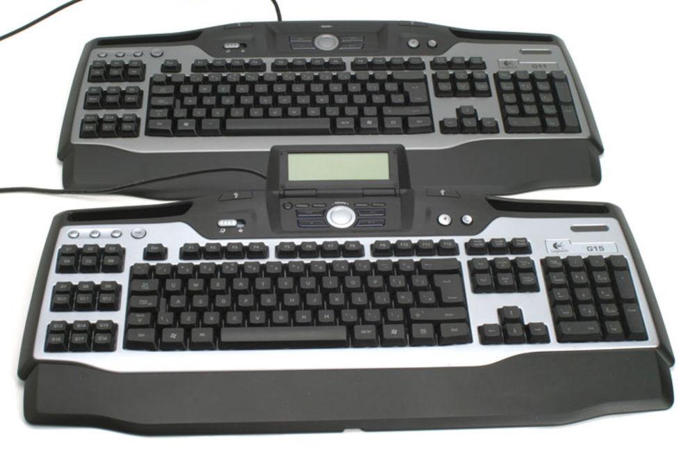 En titt på Logitech G11. Gaming-tangentbord för en rimlig peng ... 9ec9844732c2a