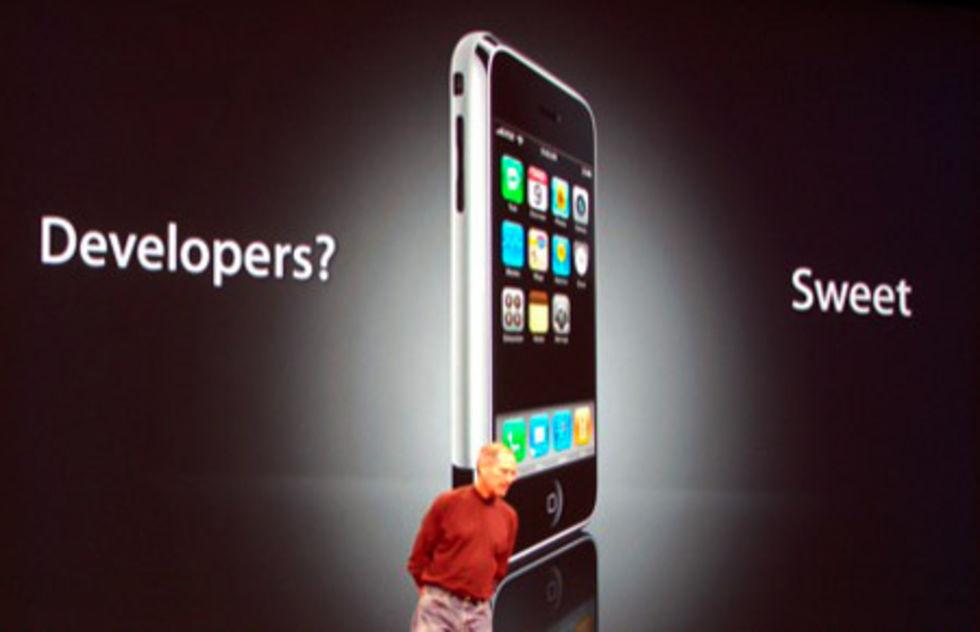 Tredjepartsutveckling för iPhone