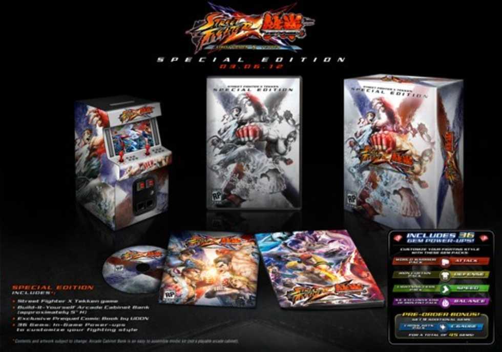 Släppdatum för Street Fighter X Tekken