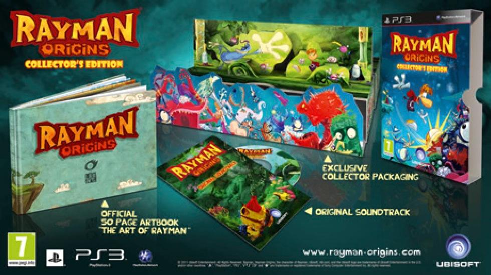 Samlarbox till Rayman Origins