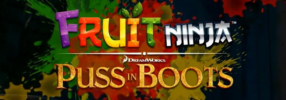Nytt på App Store idag: Fruit Ninja: Puss in Boots