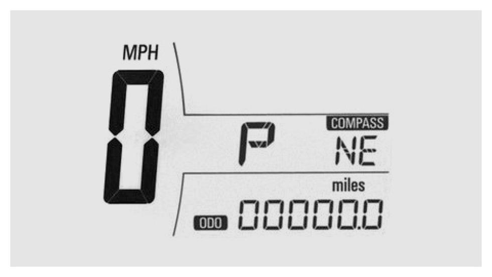 Designen på Chevrolets hastighetsmätare