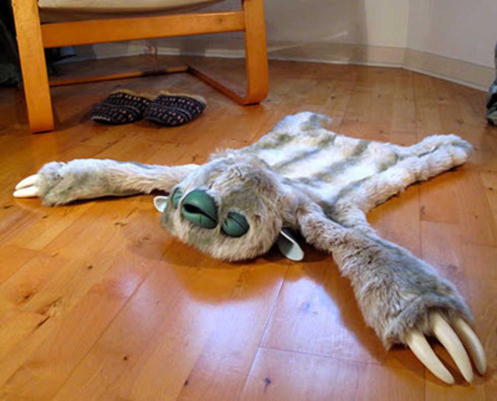 Monster på golvet