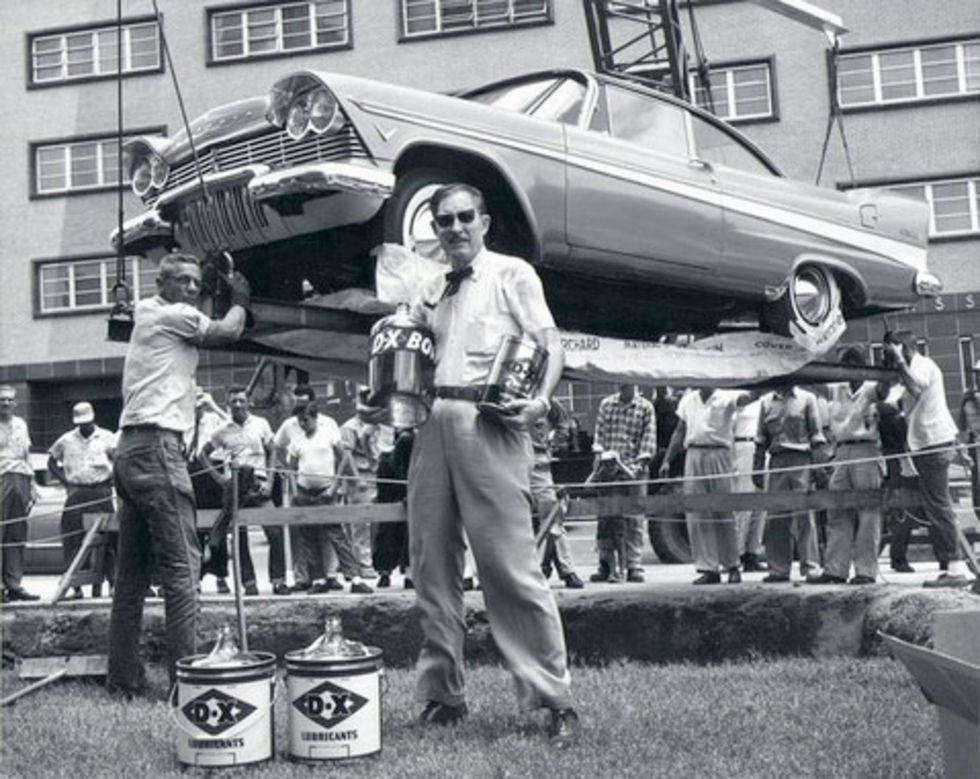 Plymouth 57:an ska grävas upp idag