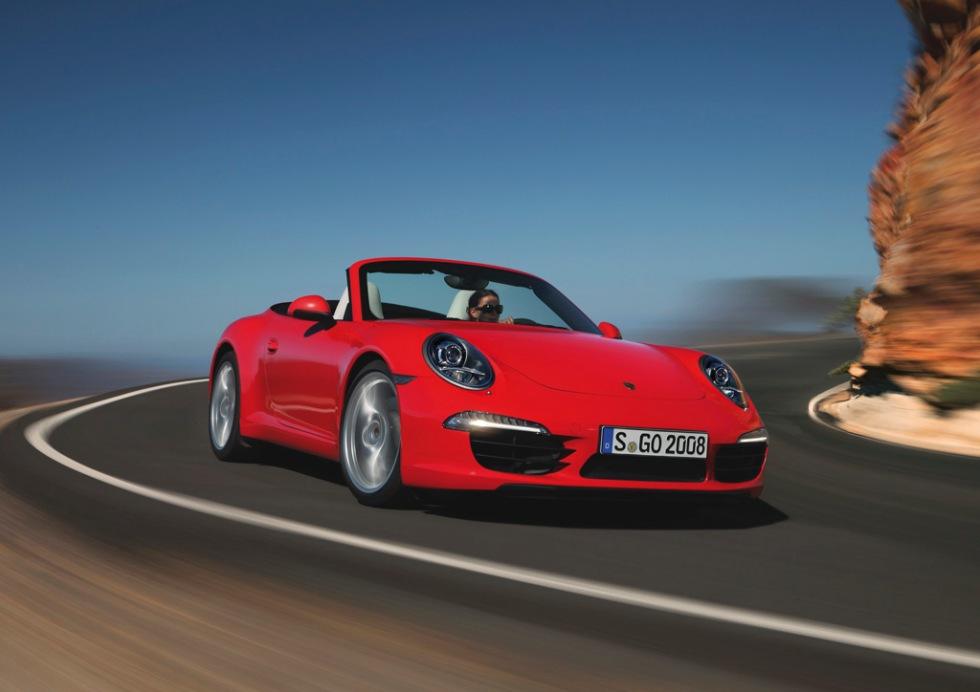 Nya Porsche 911 cabriolet kommer till våren