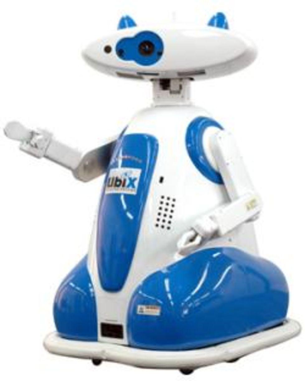 Ubiko - roboten som går att hyra på arbetsförmedlingen