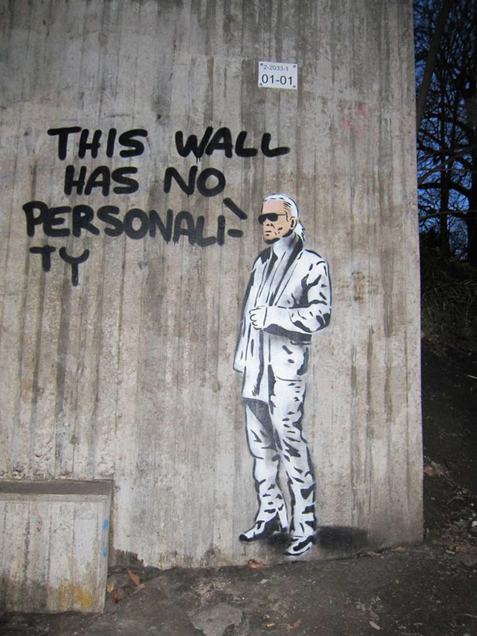This wall has no personality