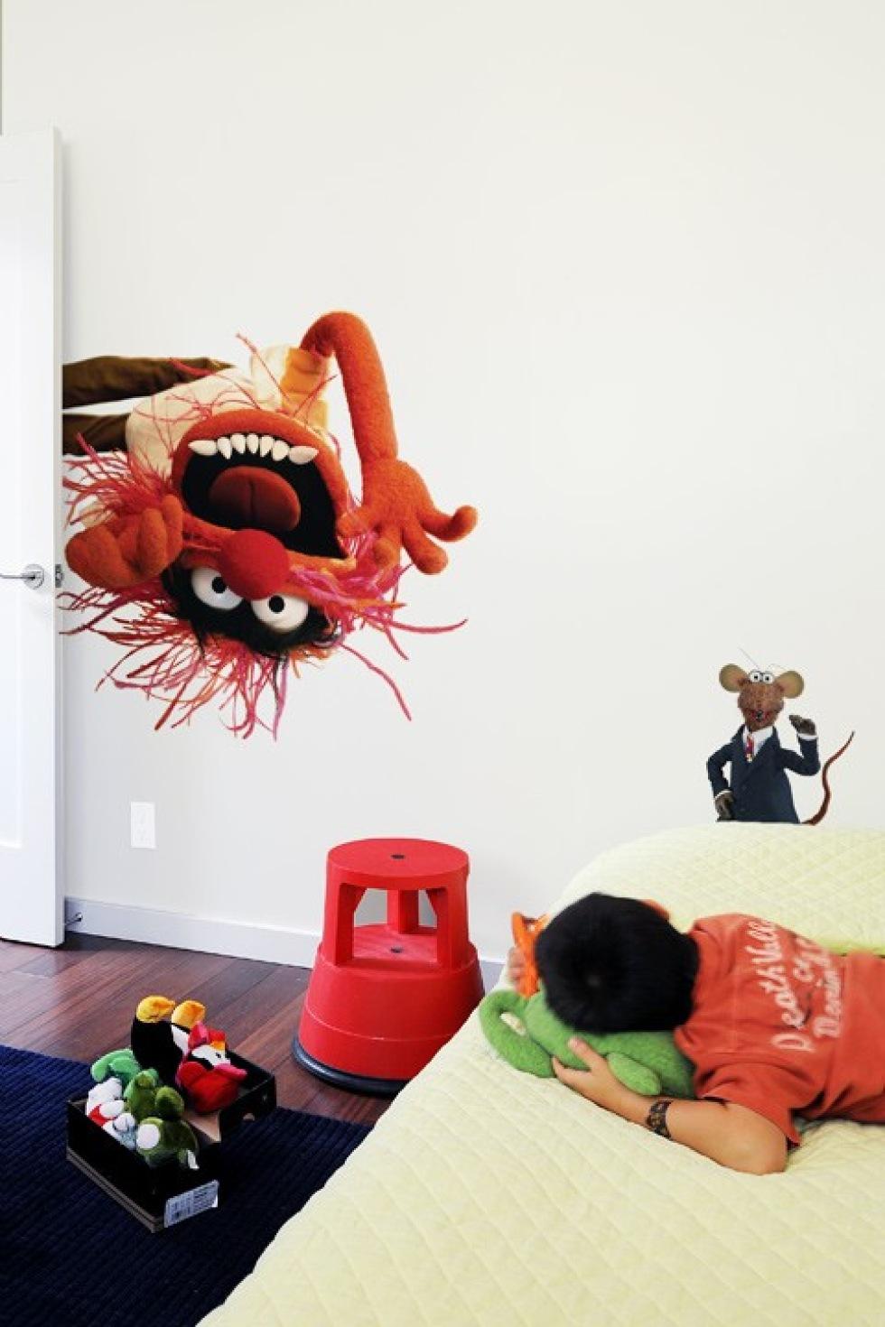 Muppar uppåt väggarna