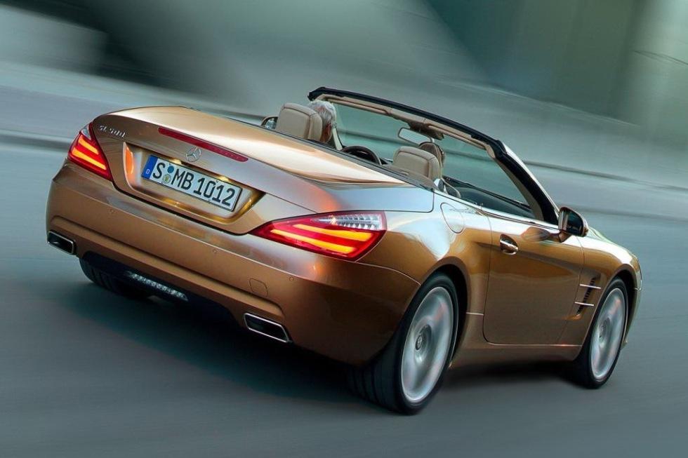 Officiella bilder på Mercedes nya SL