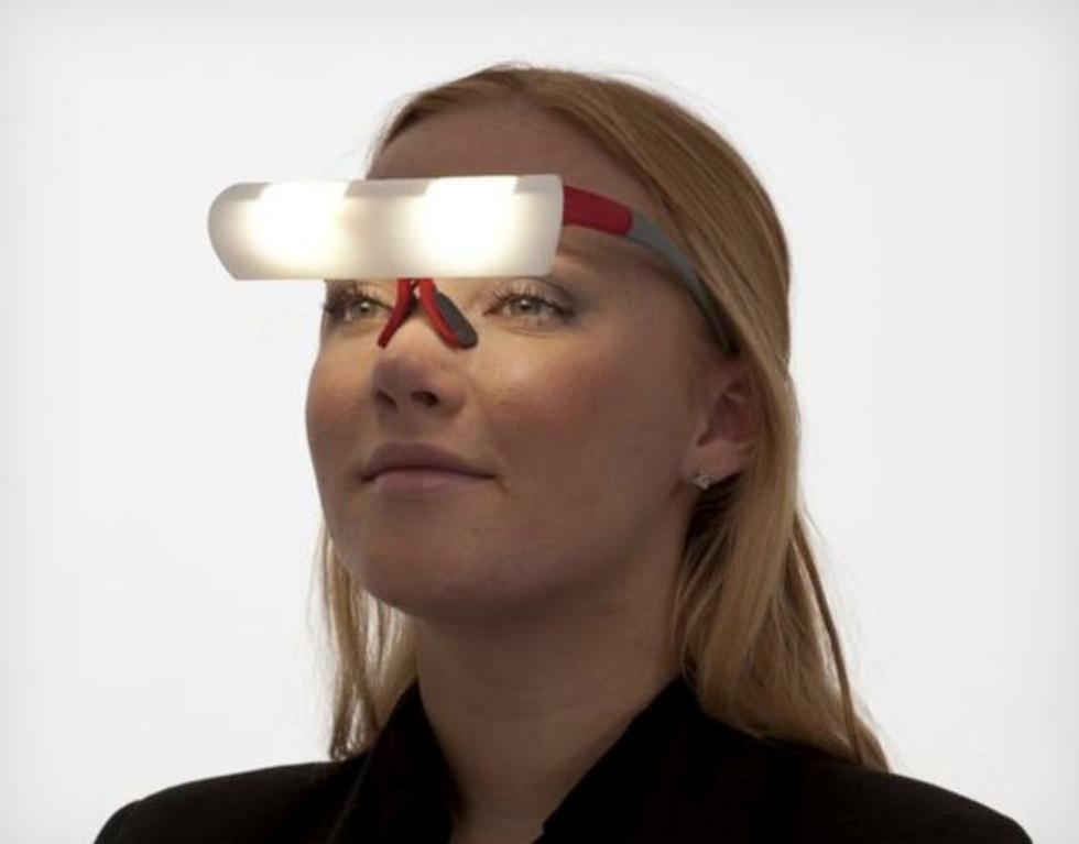 Bärbart ljus på nästippen ska motverkar trötthet