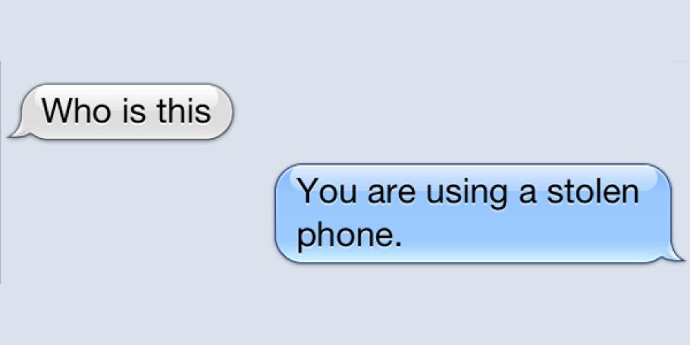 iMessage fortsätter skicka sms till stulna iPhones