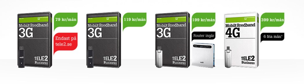 tele2 mobil data