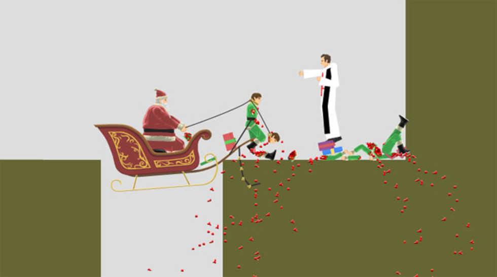 Spela Happy Wheels Christmas