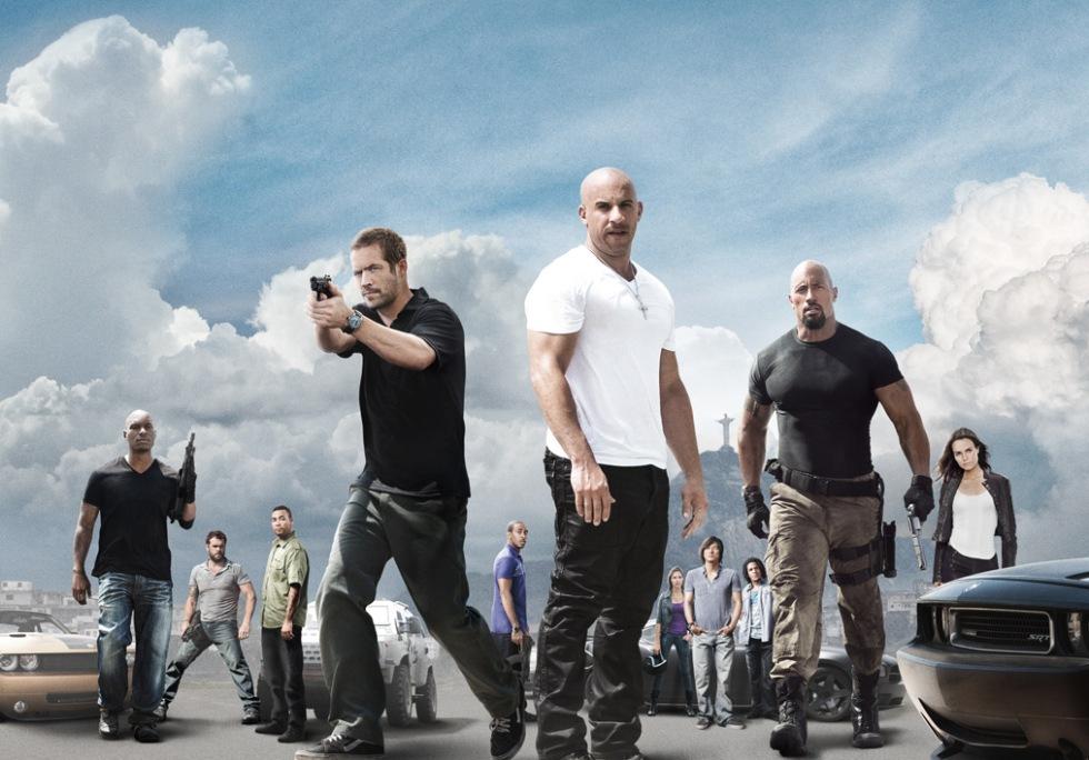 Fast Five mest piratade filmen 2011