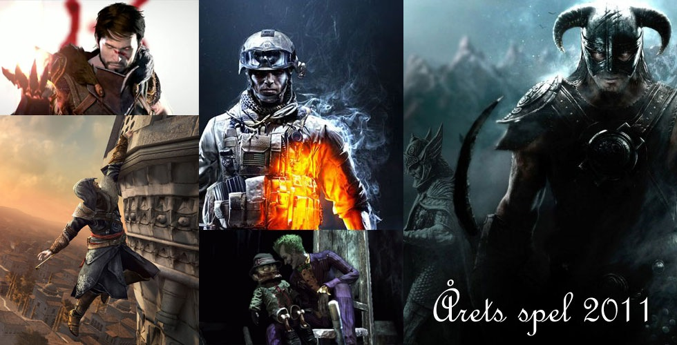 Vilket var det bästa spelet 2011?