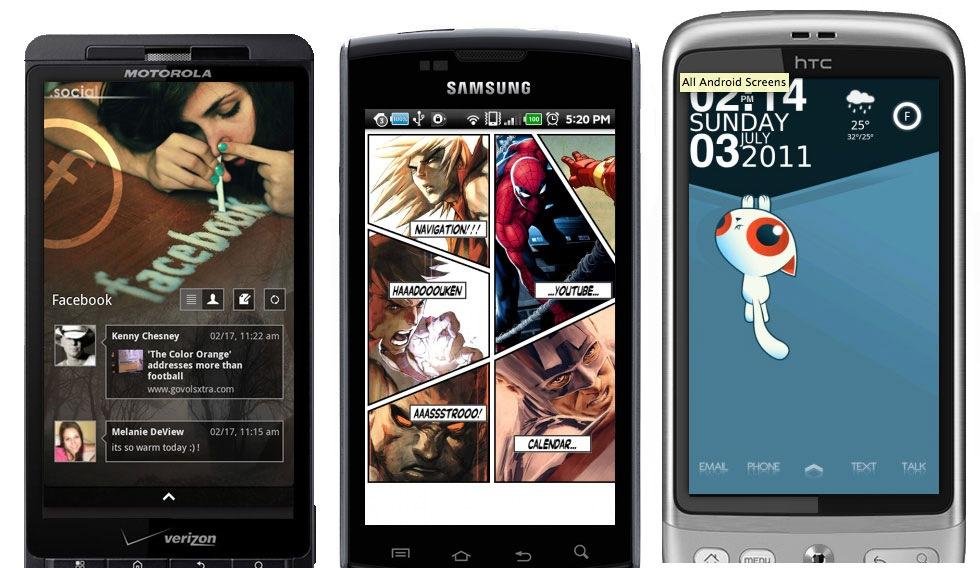 10 snygga homescreens för Android
