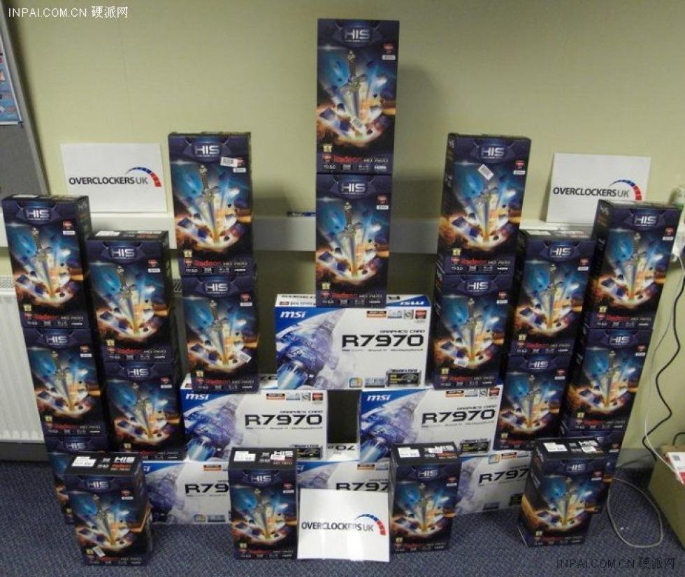 Radeon HD 7970 testat i 3-way CrossFire