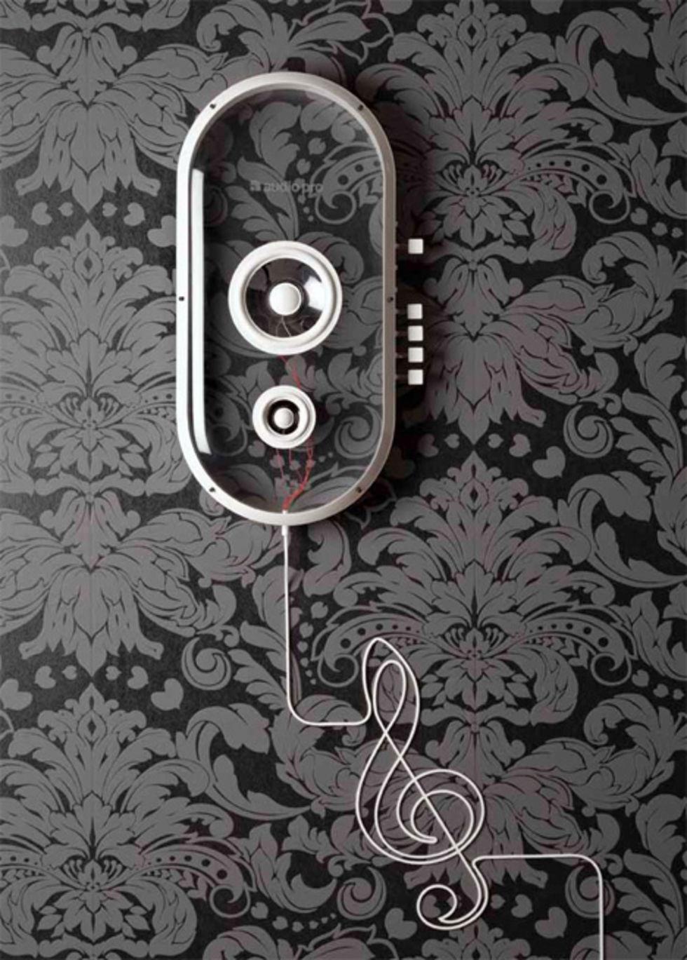 Genomskinliga Bluetooth-högtalare
