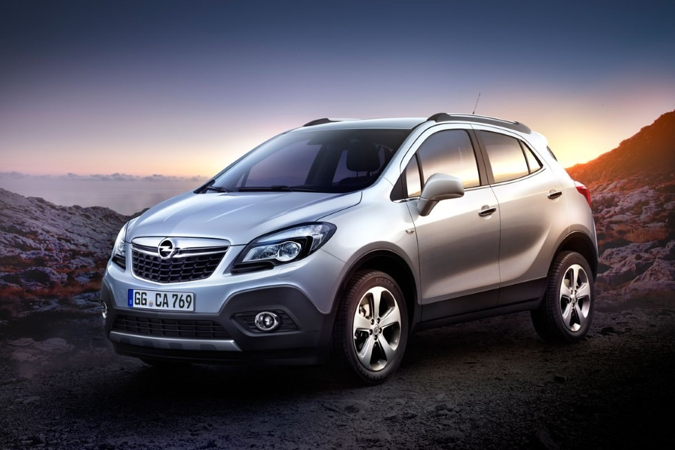 Mokka - ny liten SUV från Opel