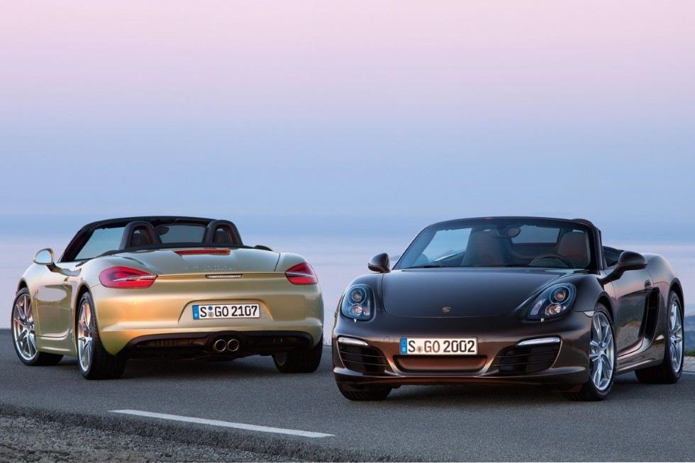 Porsches nya lilla Boxster officiell