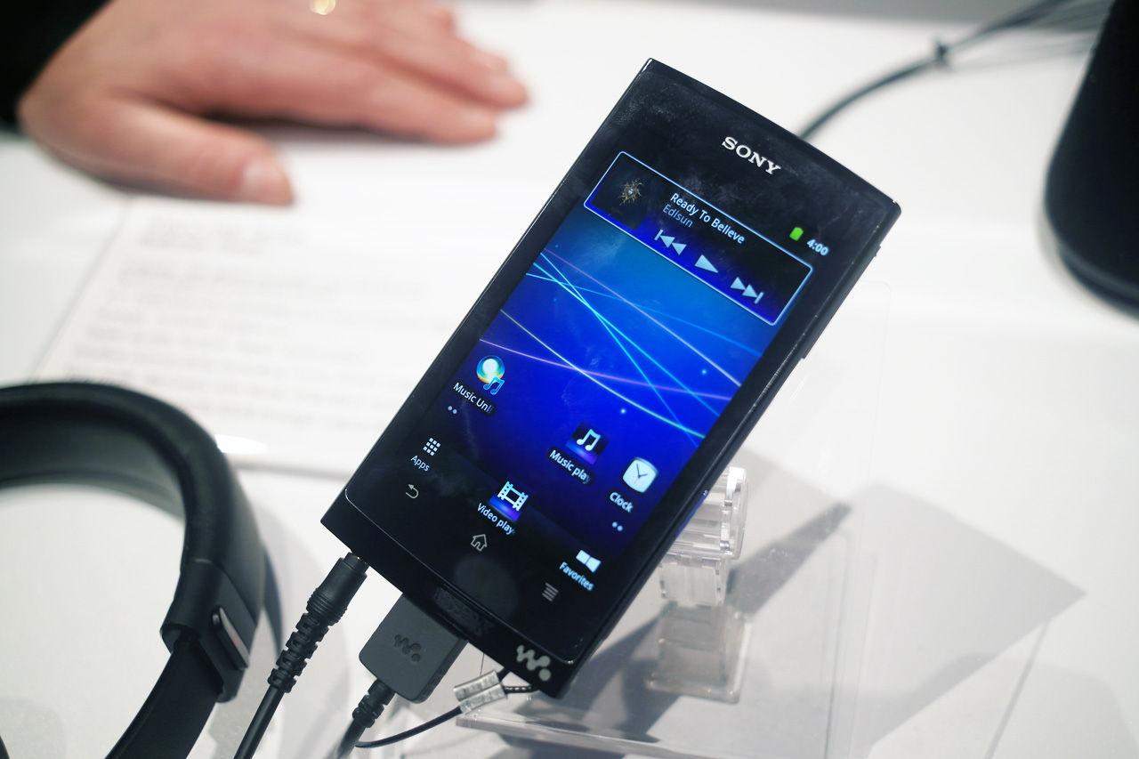 Sonys första Walkman med Android