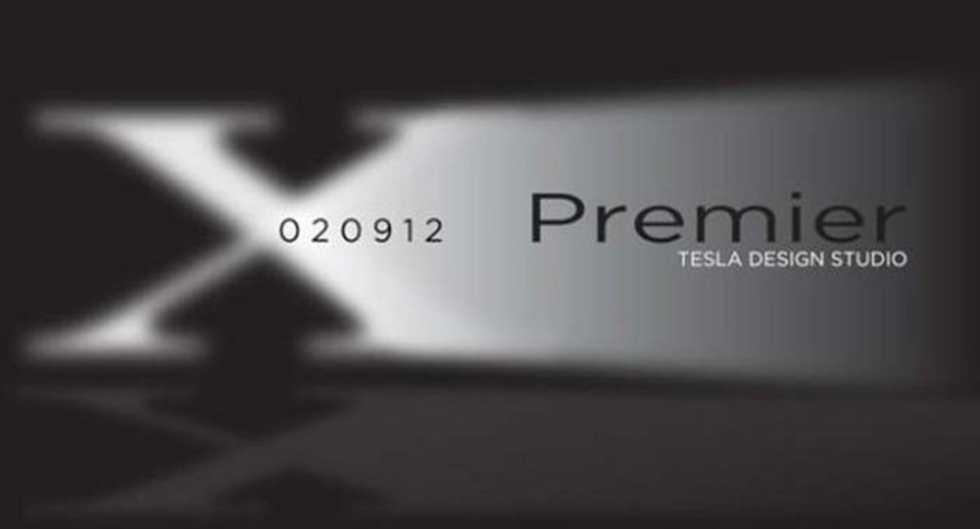 Tesla presenterar crossovern Model X den 9 februari