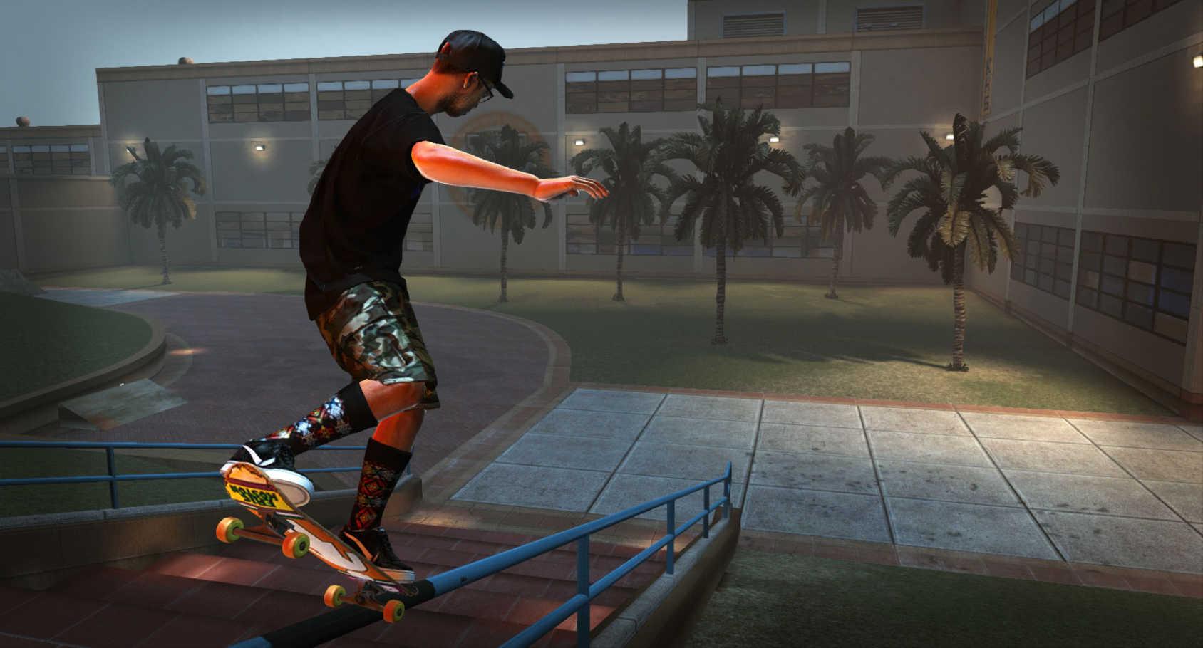 Bilder från Tony Hawk's Pro Skater HD