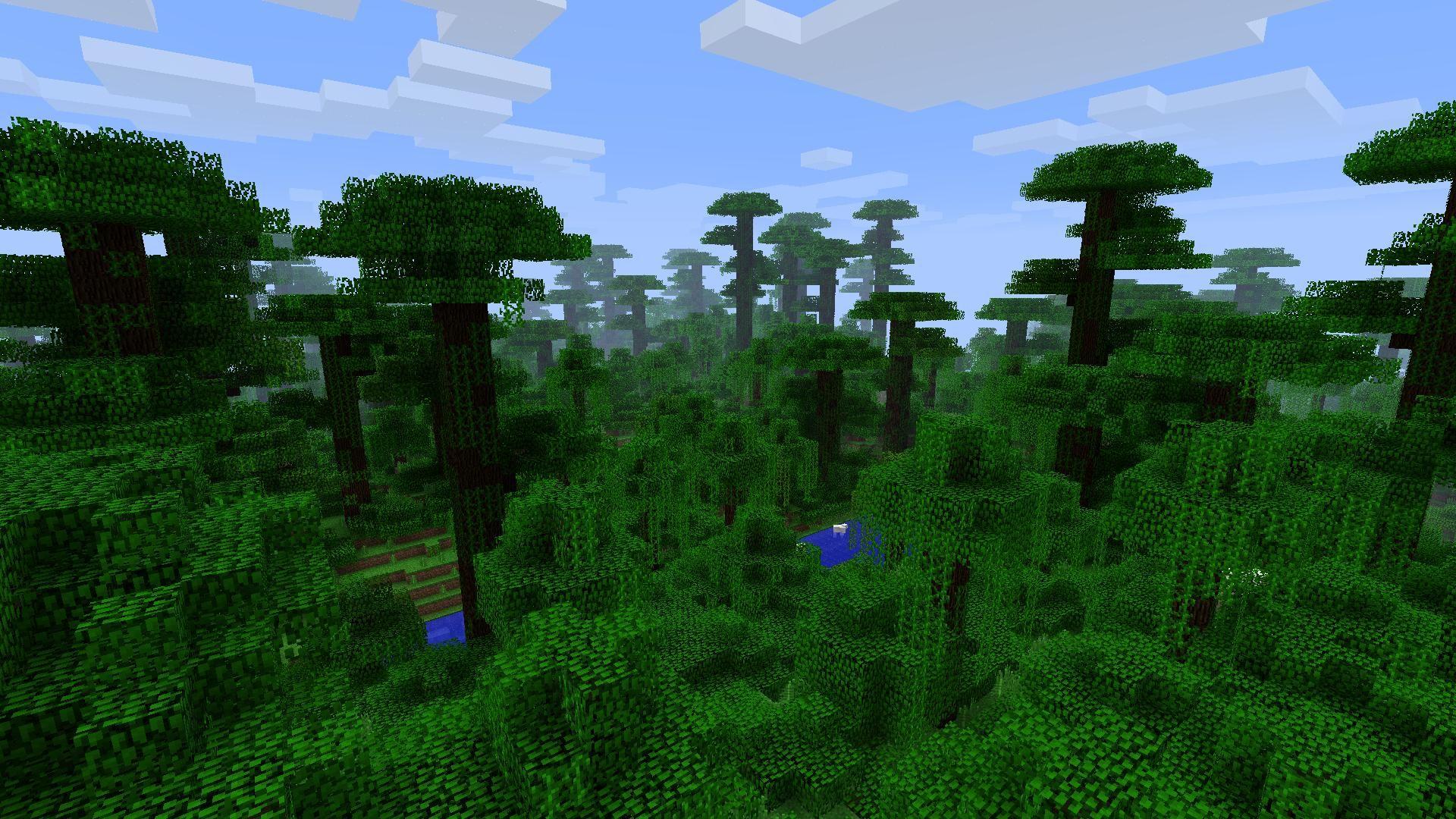 Djungeln kommer till Minecraft