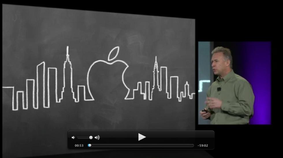 Kolla in Apples iBooks 2-presentation