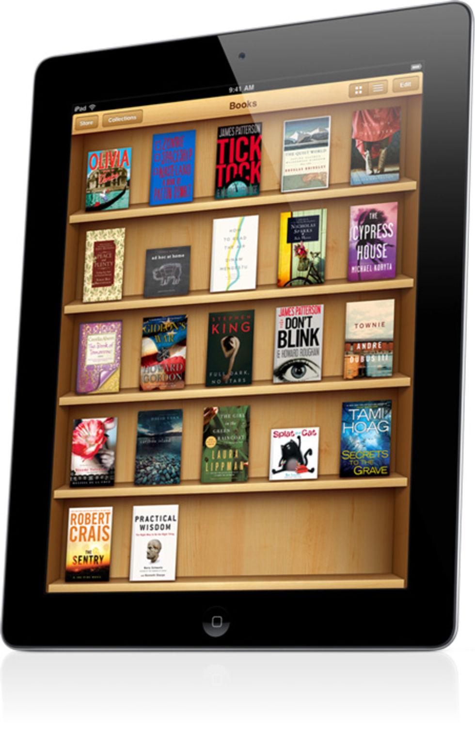 350 000 textböcker nedladdade från iBook Store på tre dagar