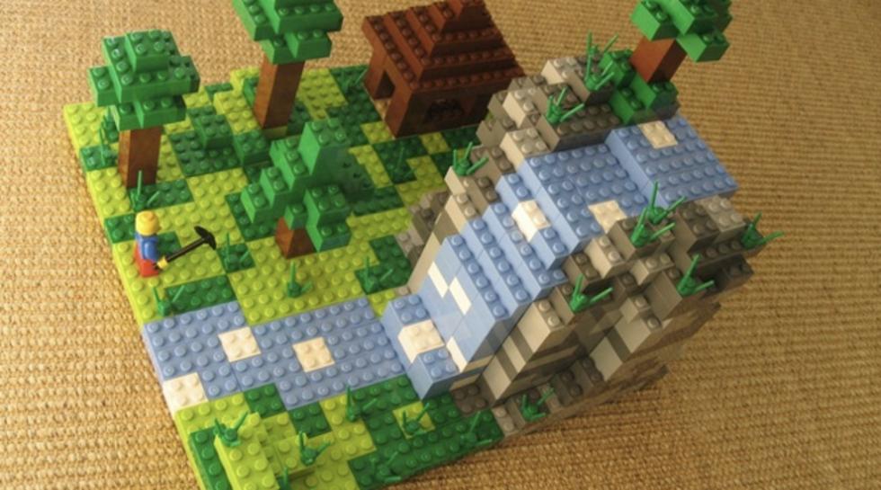 Nu är det klart, Minecraft blir Lego