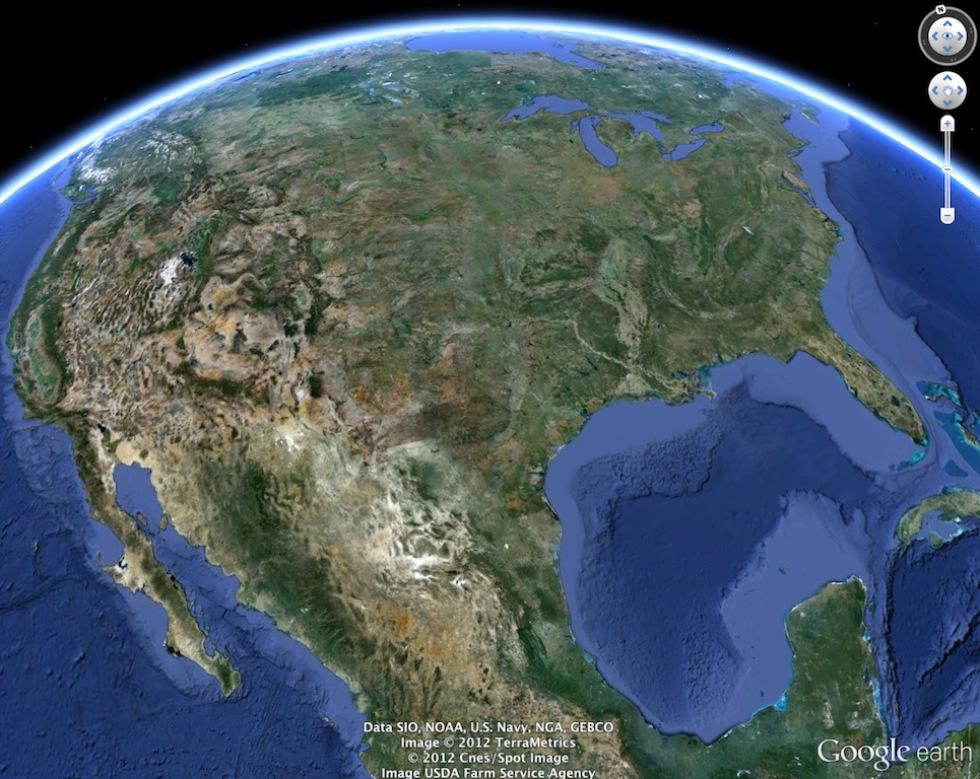 Google släpper ny version av Google Earth