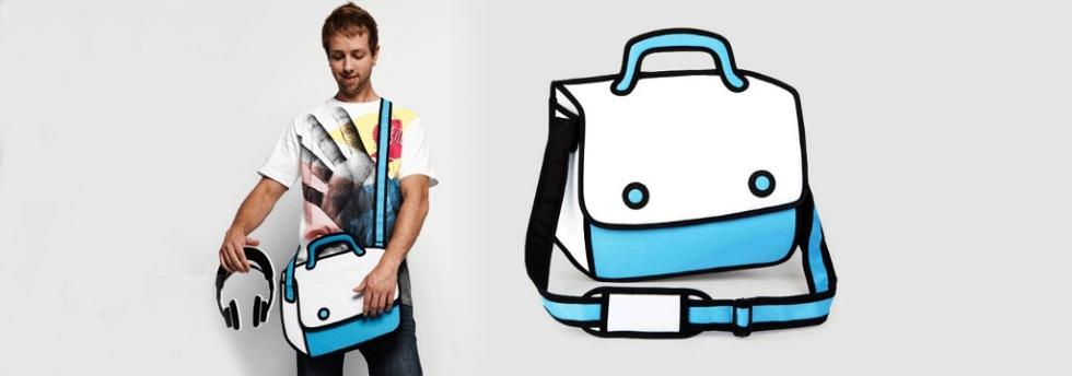 Skön väska som ser tecknad ut. Kul och annorlunda | Feber Pryl