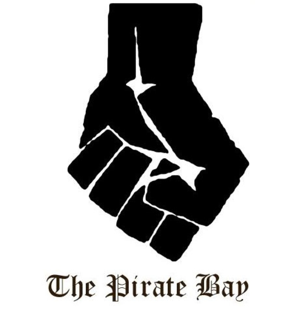 The Pirate Bay <strike>nere</strike> uppe