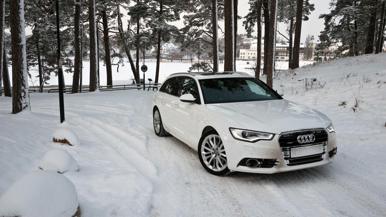 Audi A6 i Feber-garaget