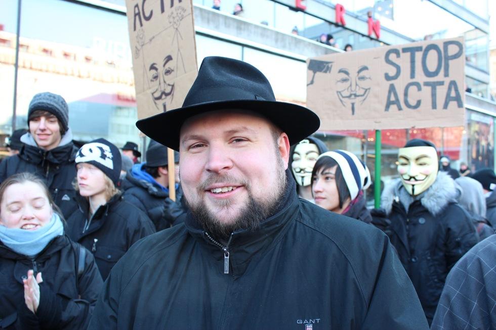 Foton från ACTA-demonstrationerna