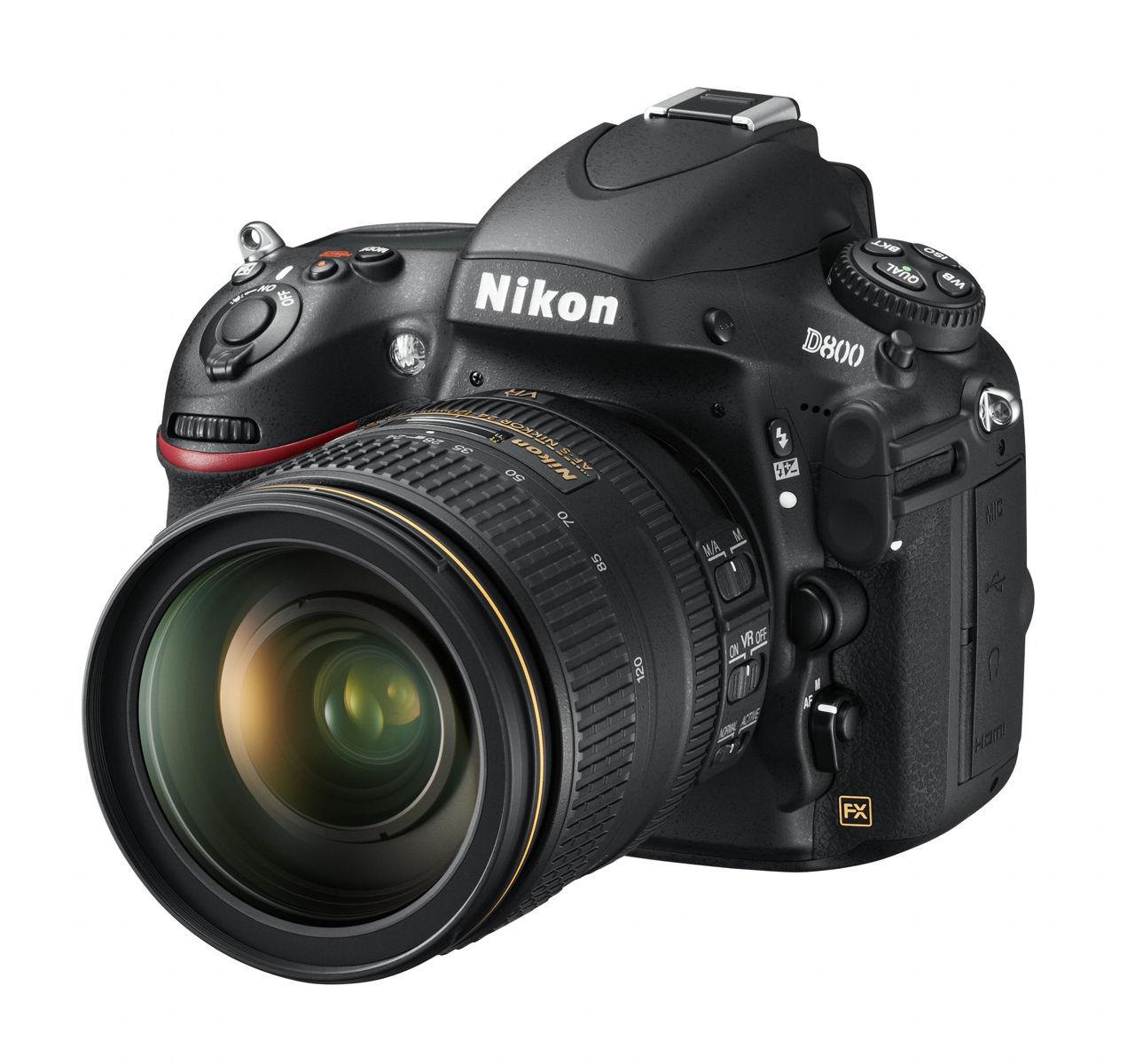 Nikon släpper D800 med 36 megapixel