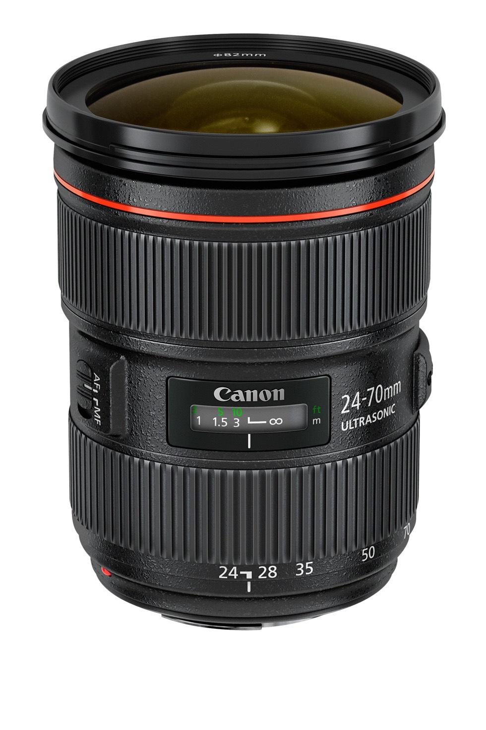 Canon släpper tre nya objektiv